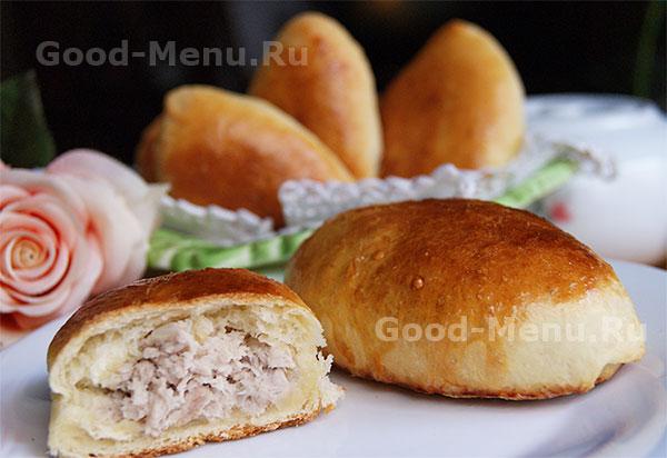 Картофельные пирожки с мясной начинкой – кулинарный рецепт
