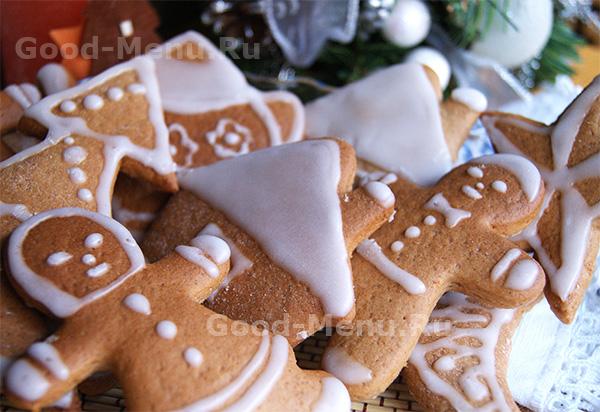 Имбирное печенье - рецепт новогоднее меню 2019