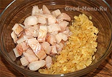 Расстегаи - рыба и лук