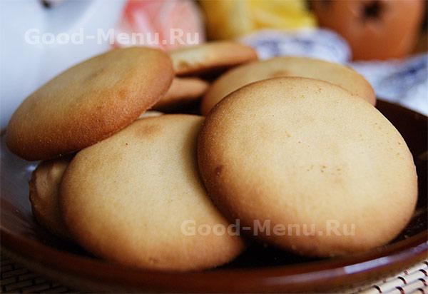 Песочное печенье простое