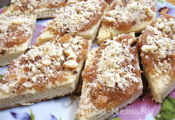 Песочное печенье с вареньем - рецепт
