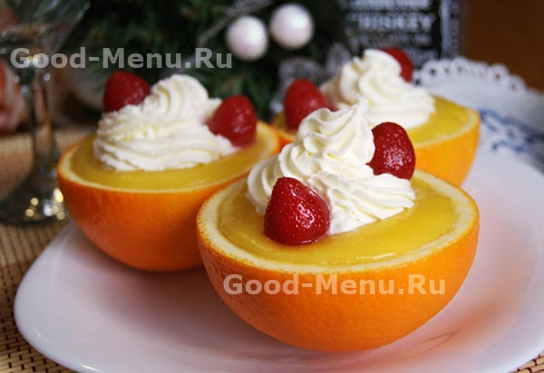 Апельсиновый торт с корицей – кулинарный рецепт