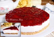 """Чизкейк """"Смородинка"""" – кулинарный рецепт"""