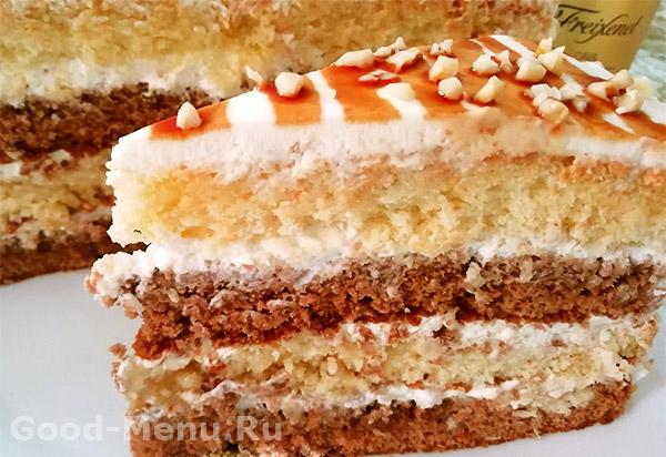 Торт День и ночь - рецепт