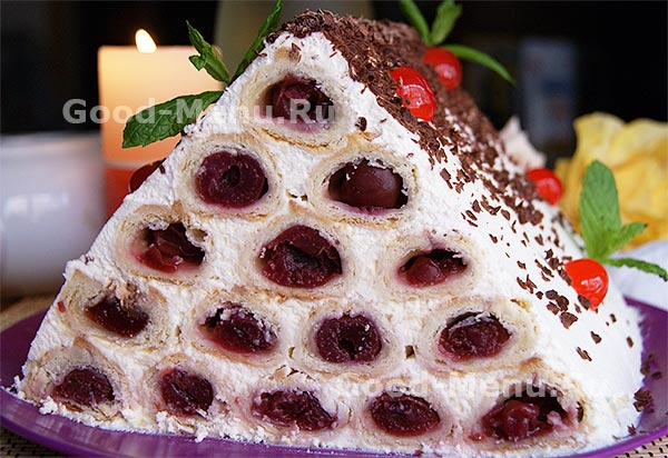 Комментарии к рецепту: Торт «Монастырская изба»